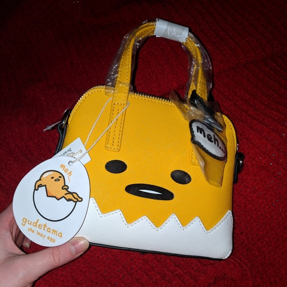 b1c07e3b8590 NWT Gudetama x Loungefly small crossbody purse NWT